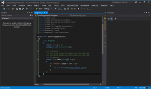 VS2012 Dark Color Theme