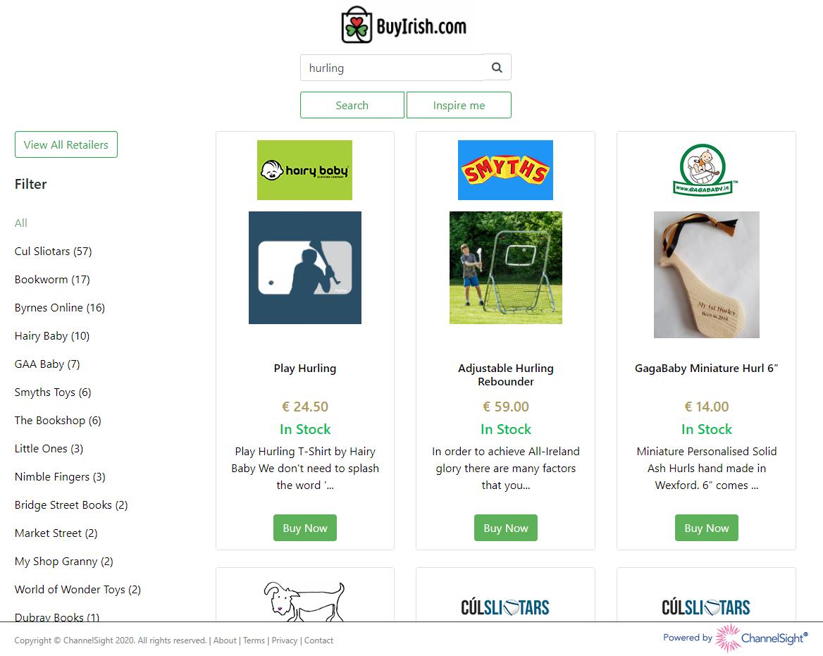 BuyIrish Site